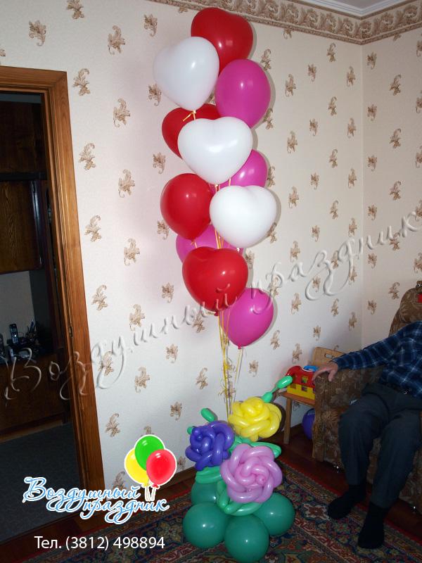 Воздушные шары на детский праздник своими руками фото 614